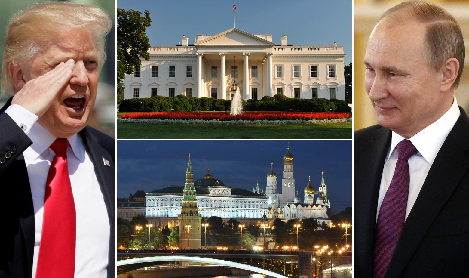 Donald Trump, Bijela Kuća, Kremlj i Vladimir Putin