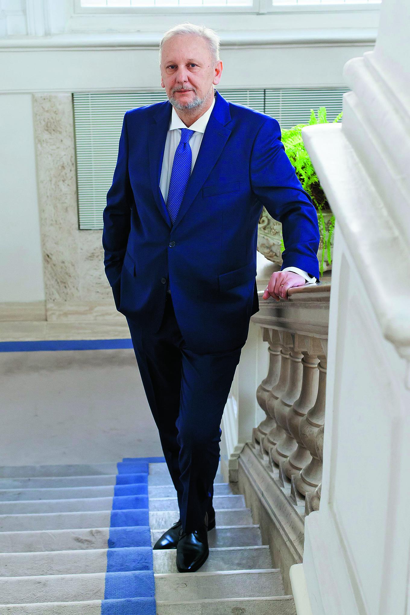 Zagreb, 140417. Vlada RH. Na fotografiji: Davor Bozinovic - predstojnik Ureda predsjednika Vlade. Foto: Tomislav Kristo / CROPIX
