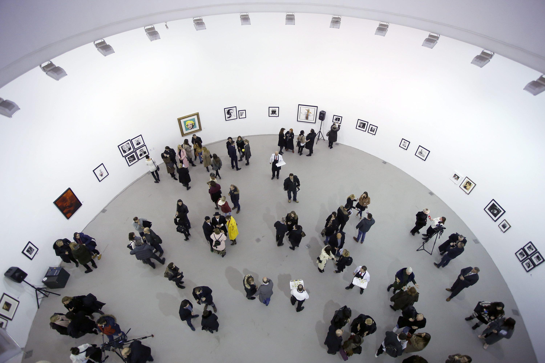 Otvorenje izložbe američkog fotografa Sandra Millera u HDLU