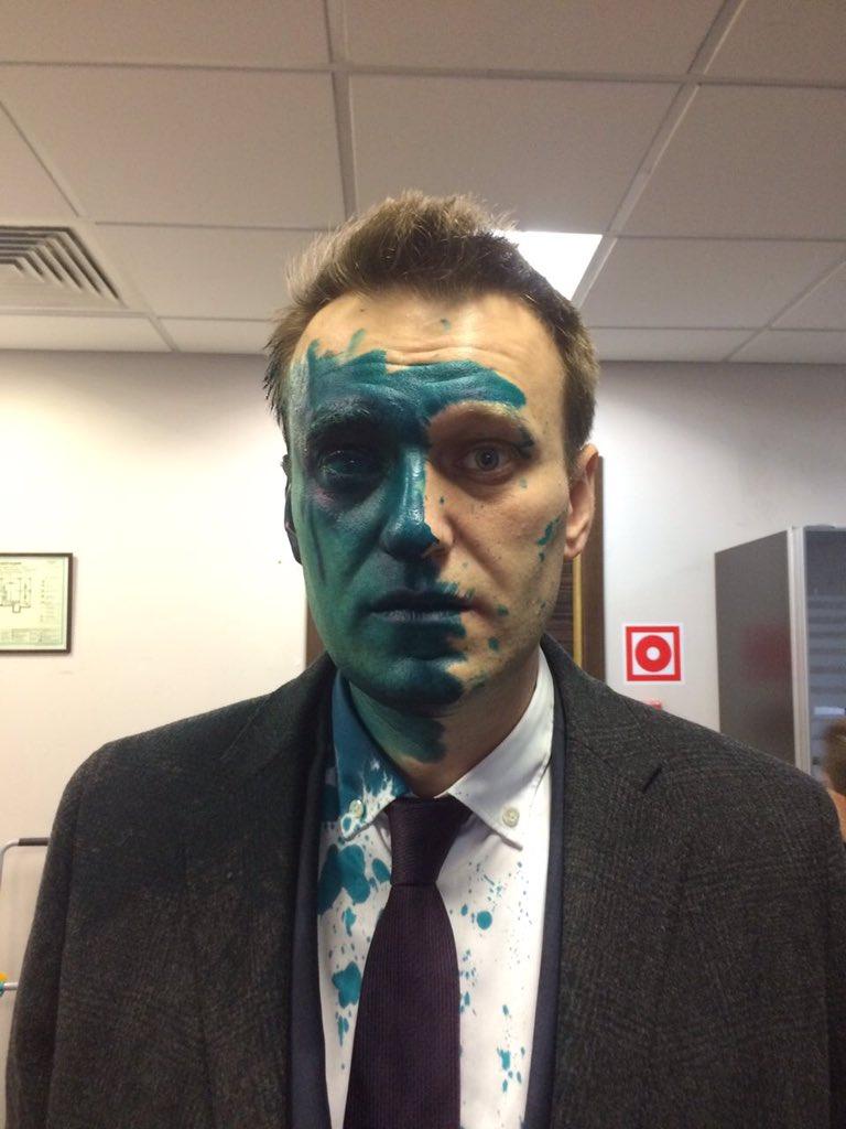 Navalni u zelenom