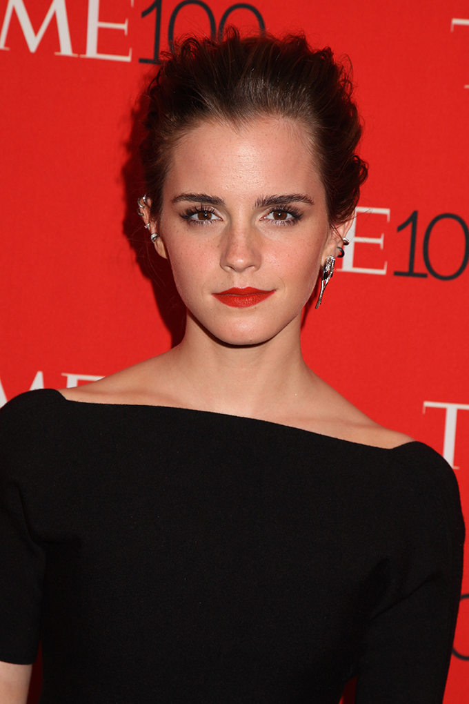 Mandatory Credit: Photo by Gregory Pace/BEImages (2696352u) Emma Watson Time 100 Gala, New York, America - 21 Apr 2015, Image: 239575413, License: Rights-managed, Restrictions: , Model Release: no, Credit line: Profimedia, BEImages