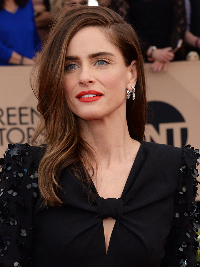 Actress Amanda Peet arrives for the the 23rd annual SAG Awards held at the Shrine Auditorium in Los Angeles on January 29, 2017. The Screen Actors Guild Awards will be broadcast live on TNT and TBS.  Photo by /UPI, Image: 313809670, License: Rights-managed, Restrictions: , Model Release: no, Credit line: Profimedia, UPI