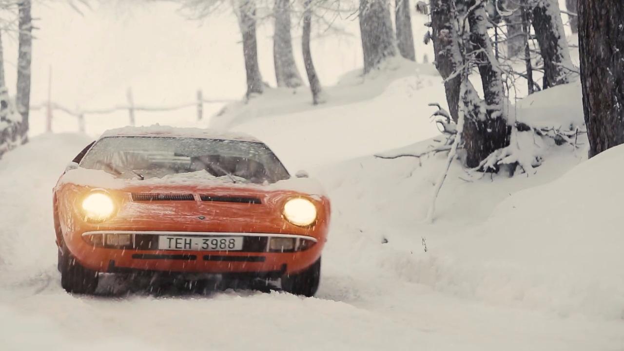 lamborghini-miura-in-snow