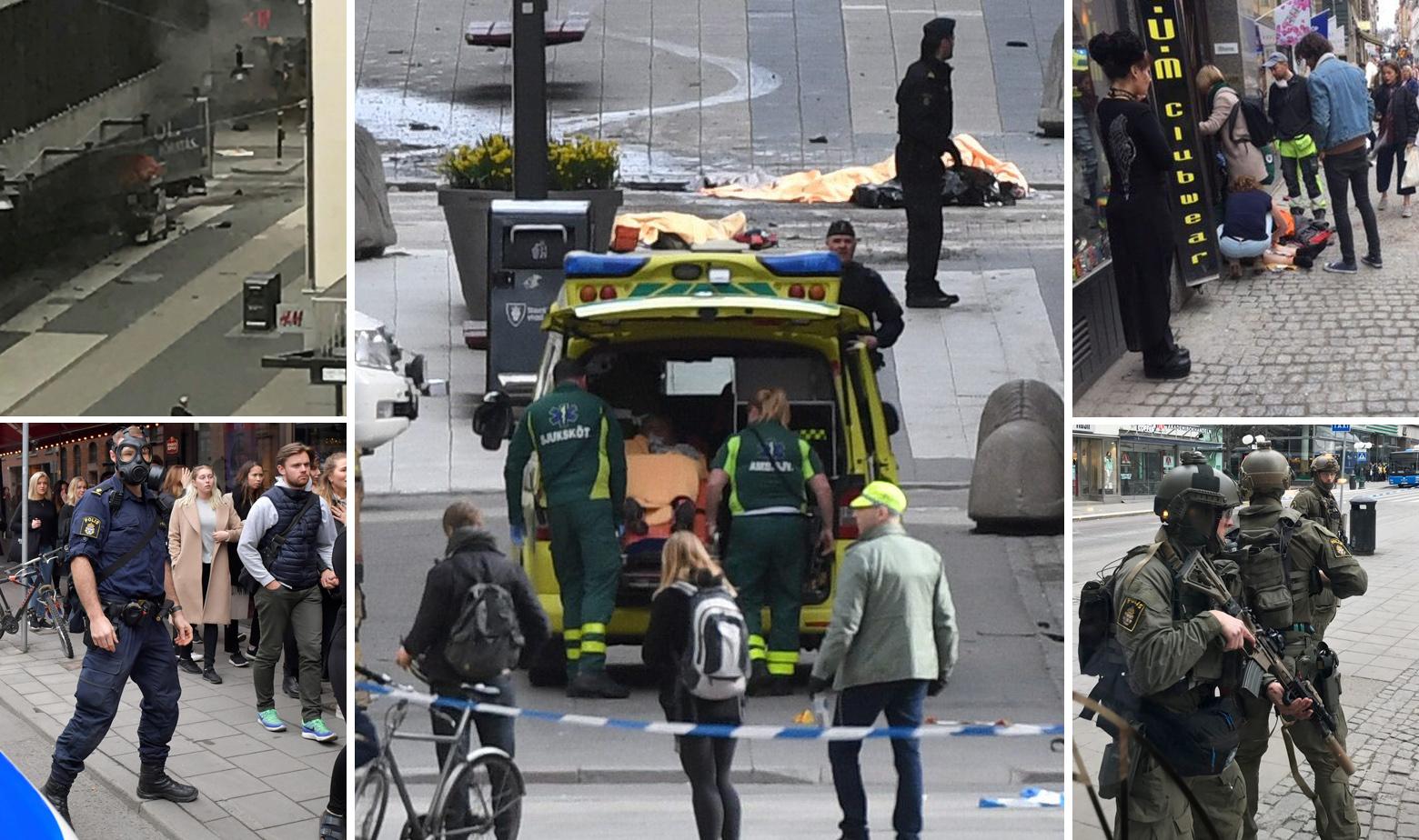 Švedska napad Stockholm