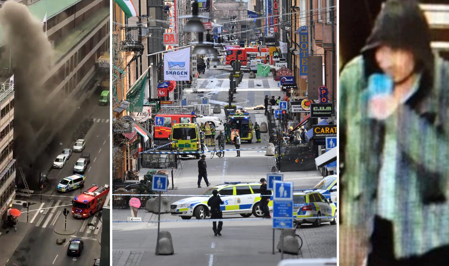 Švedska Stockholm napad