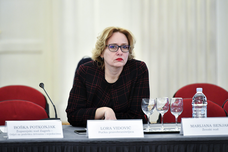 Pučka pravobraniteljica Lora Vidović