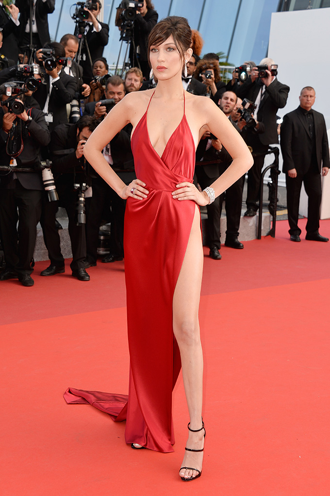 CANNES, FRANCE - MAY 18:  Model Bella Hadid attends