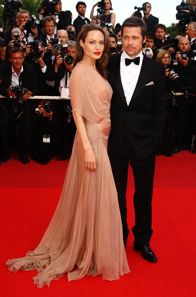 Angelina Jolie i Brad Pitt 2009. godine