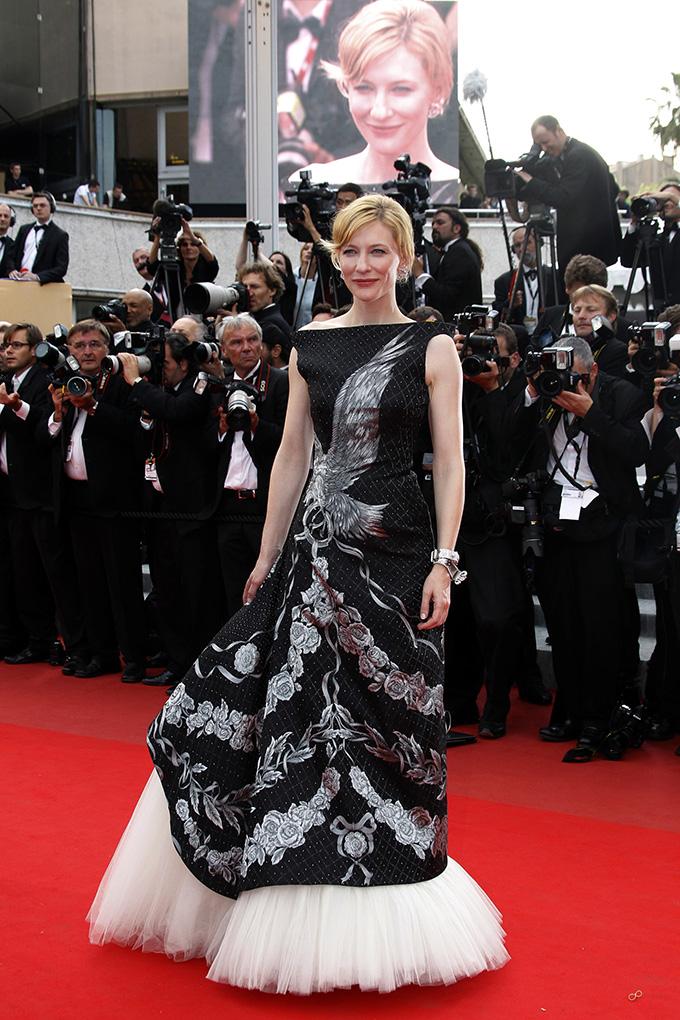 Cast member Cate Blanchett arrives for the screening of