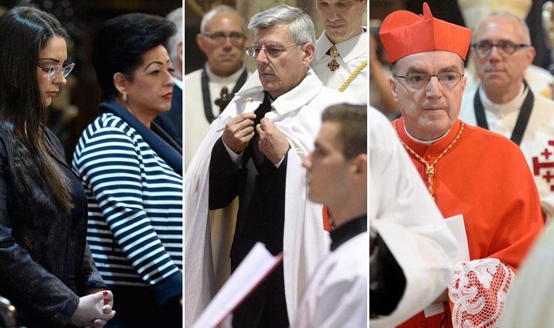 Supruga i kći, Željko Reiner, kardinal Josip Bozanić