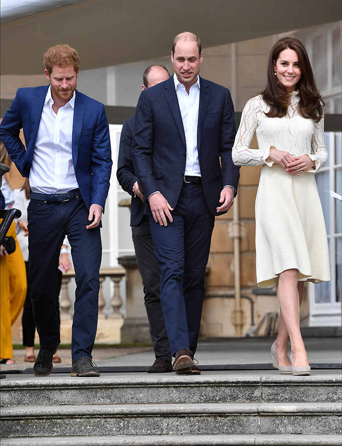 164908, The Duke and Duchess of Cambridge and Prince Harry host a Tea Party in the grounds of Buckingham Palace to honour the children of those who have died serving in the Armed Forces. London, United Kingdom - Saturday May 13, 2017. UK, FRANCE, AUS, NZ, CHINA, HONG KONG, TAIWAN, SPAIN & ITALY OUT, Image: 332200097, License: Rights-managed, Restrictions: RESTRICTIONS APPLY, Model Release: no, Credit line: Profimedia, Pacific coast news