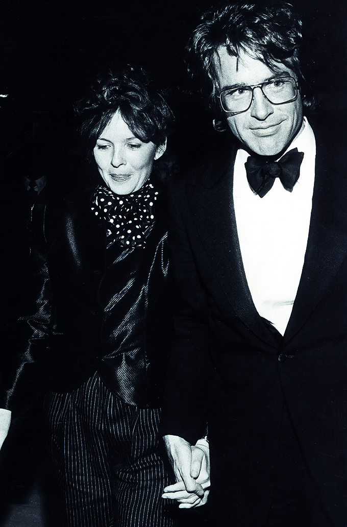 WARREN BEATTY with Diane Keaton., Image: 140499455, License: Rights-managed, Restrictions: , Model Release: no, Credit line: Profimedia, Zuma Press - Archives