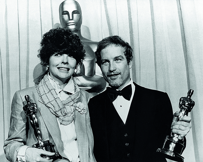 No Merchandising. Editorial Use Only. No Book Cover Usage. Mandatory Credit: Photo by REX/Shutterstock (5853721a) Diane Keaton, Richard Dreyfuss Oscars / Academy Awards - 1978 Candid