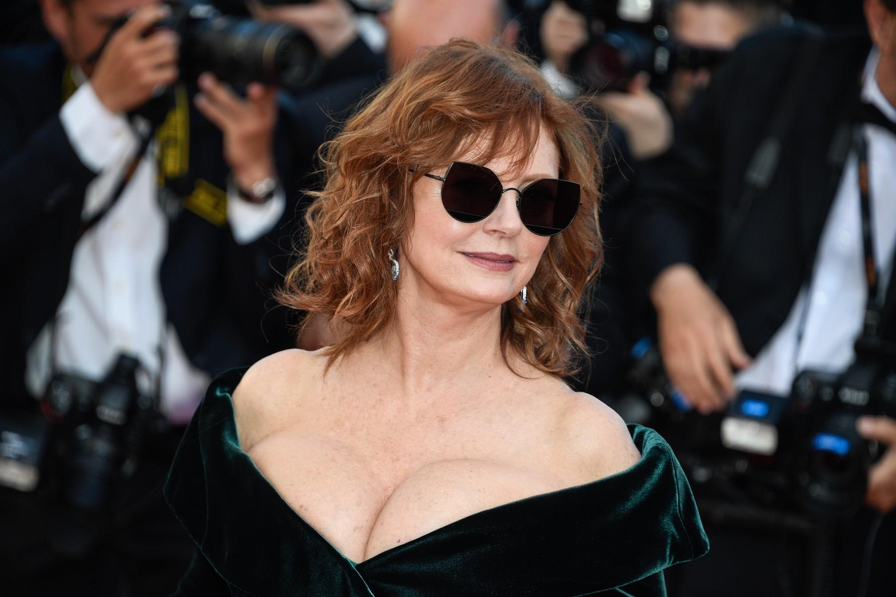Susan Sarandon u Cannesu na crvenom tepihu u srijedu