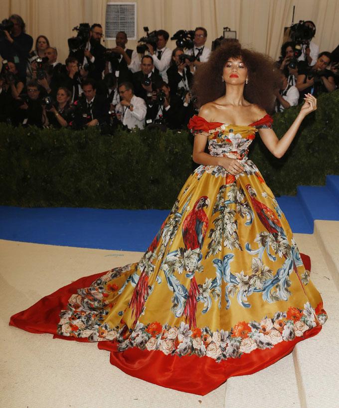 Metropolitan Museum of Art Costume Institute Gala - Rei Kawakubo/Comme des Garcons: Art of the In-Between - Arrivals - New York City, U.S. - 01/05/17 - Zendaya. REUTERS/Carlo Allegri