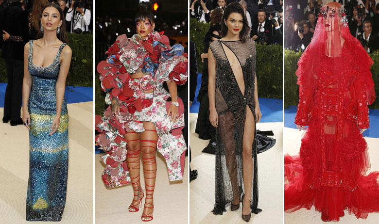 Emily Ratajkowski, Rihanna, Kendall Jenner i Katy Perry