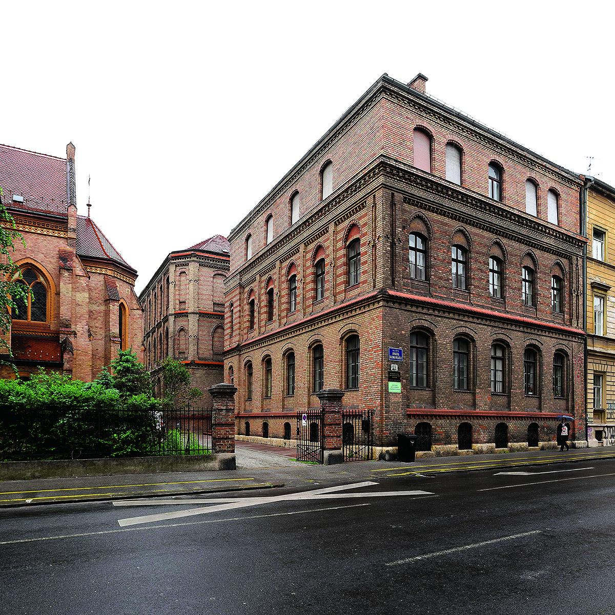 Zagreb, 090517. Gunduliceva 28. Evangelicka crkva u Zagrebu. Na fotografiji:  Foto: Darko Tomas / CROPIX