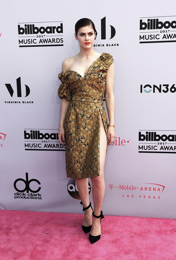 2017 Billboard Music Awards – Arrivals - Las Vegas, Nevada, U.S., 21/05/2017 - Alexandra Daddario. REUTERS/Steve Marcus