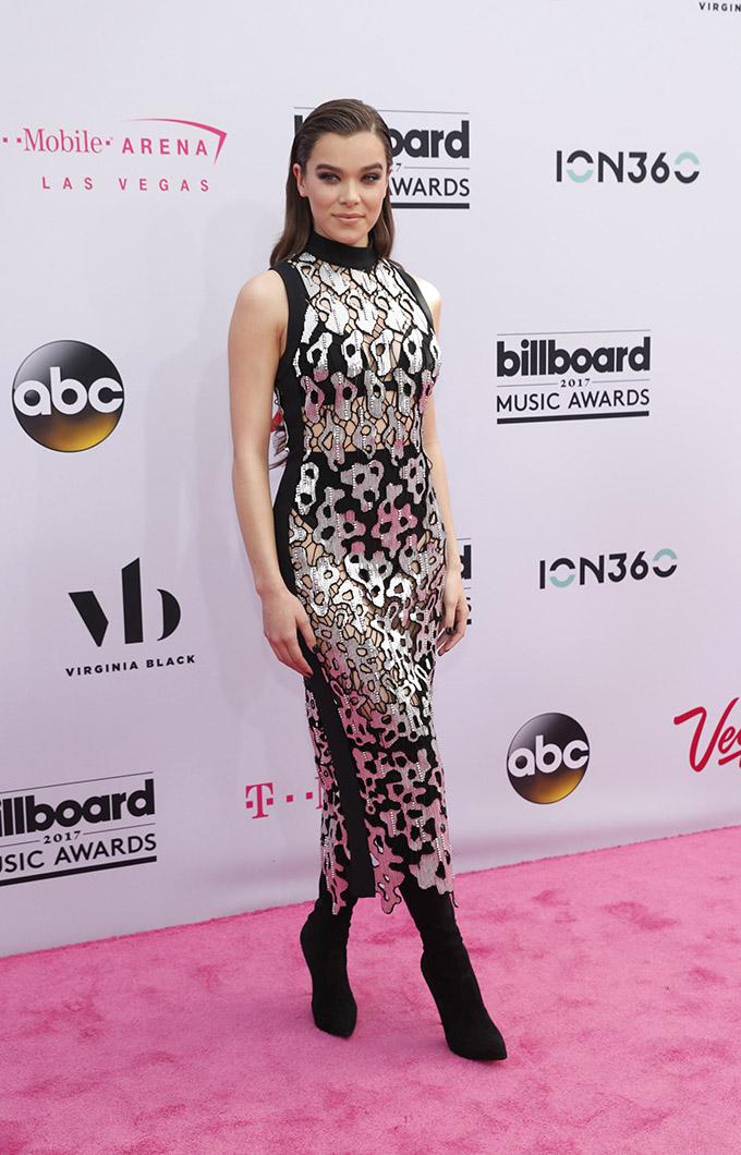 2017 Billboard Music Awards – Arrivals - Las Vegas, Nevada, U.S., 21/05/2017 - Singer Hailee Steinfeld. REUTERS/Steve Marcus