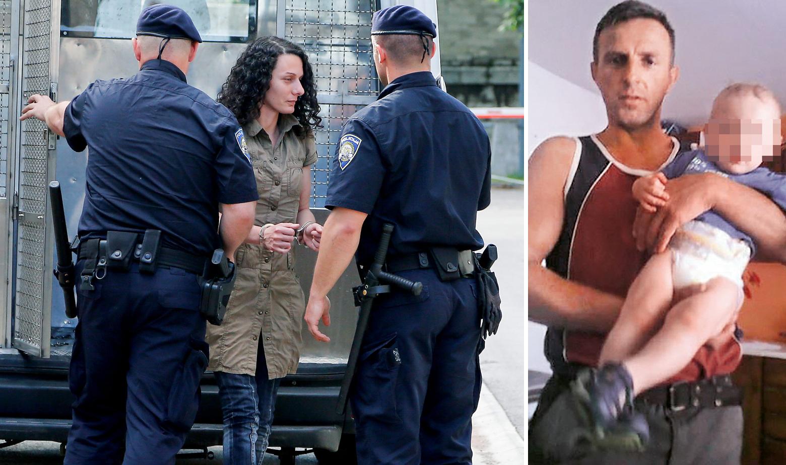 Privođenje Chiare Rojnić, ubijeni dječak Denis s ocem Rašidom Pašićem