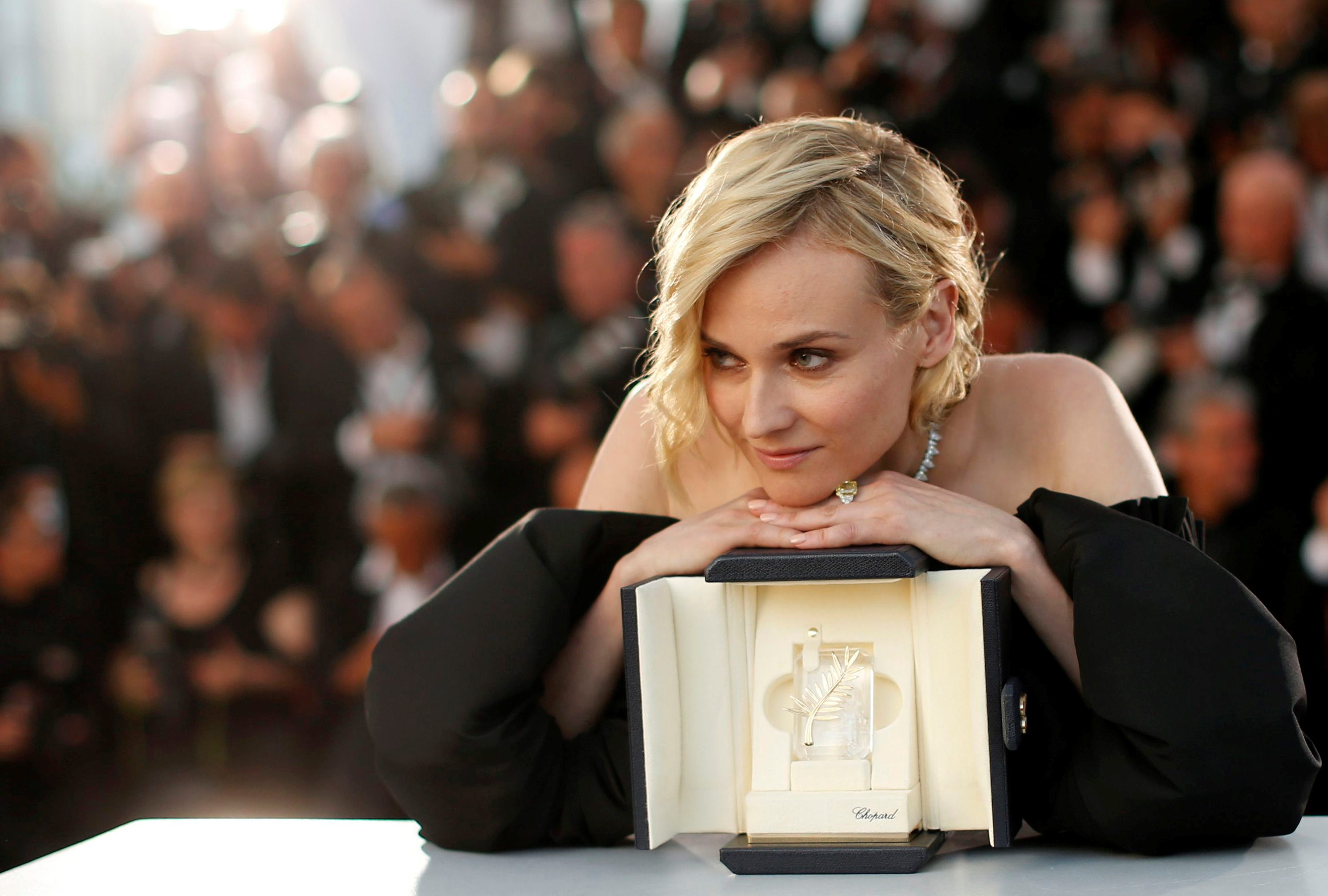 70th Cannes Film Festival - Photocall after Closing ceremony - Cannes, France. 28/05/2017. Actress Diane Kruger, Best Actress award winner for her role in the film