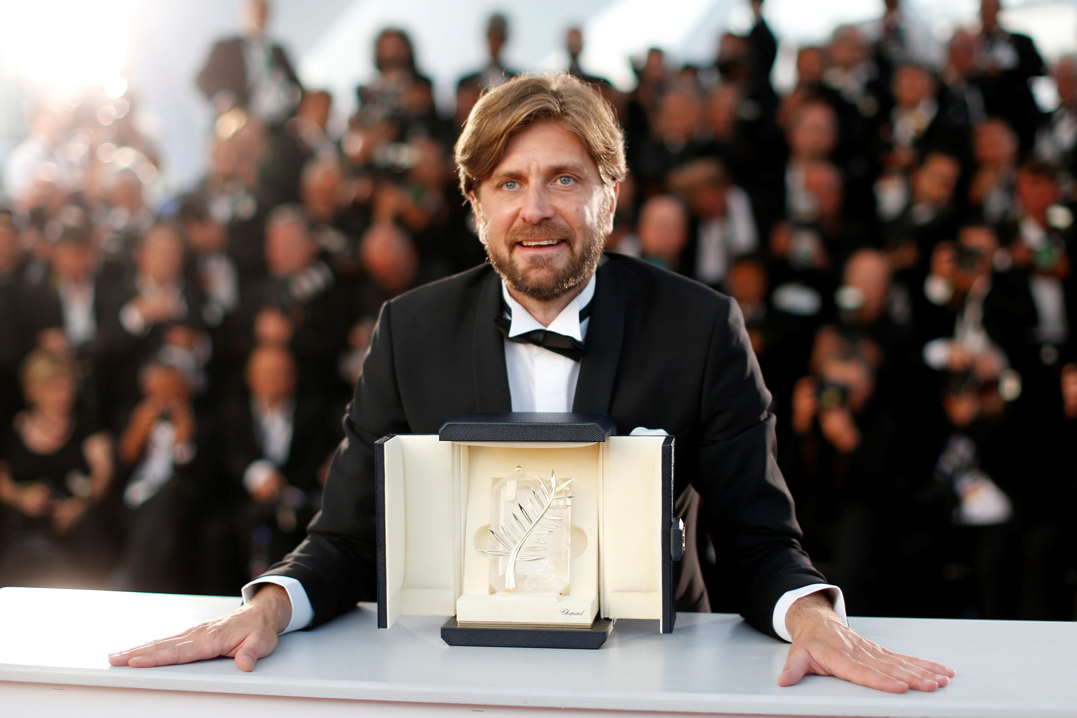 70th Cannes Film Festival Äi Photocall after Closing ceremony - Cannes, France. 28/05/2017. Director Ruben Ostlund , Palme d'Or award winner for his film
