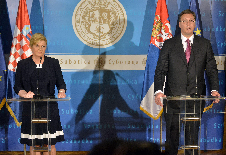 Predsjednica RH Kolinda Grabar Kitarović i premijer Srbije Aleksandar Vučić potpisali su u lipbnju 2016. u Subotici političku deklaraciju koja uključuje pitanja manjina, nestalih, granice i sukcesiju