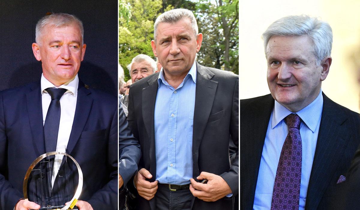 Marko Pipunić, Ante Gotovina, Ivica Todorić
