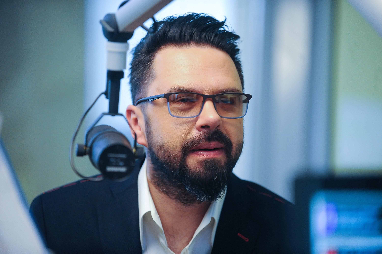 Zagreb, 030517. Narodni radio. Petar Graso u emisiji Narodnog radia povodom proslave 20. godisnjice . Na fotografiji: Petar Graso. Foto: Damir Krajac / CROPIX