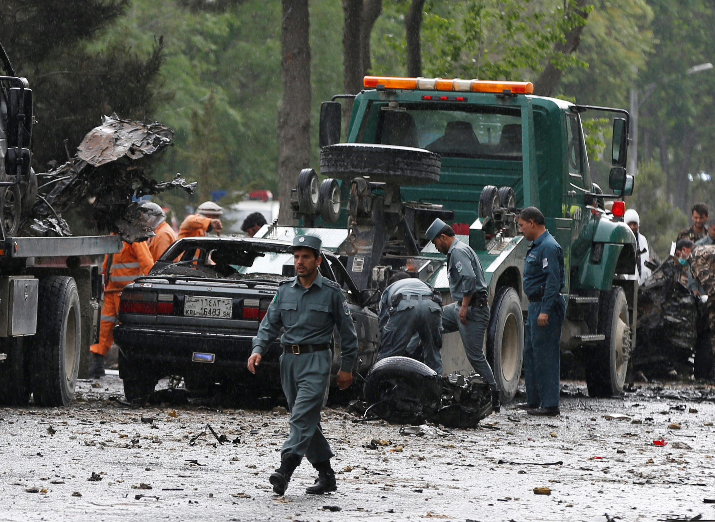 Kabul Afganistan napad