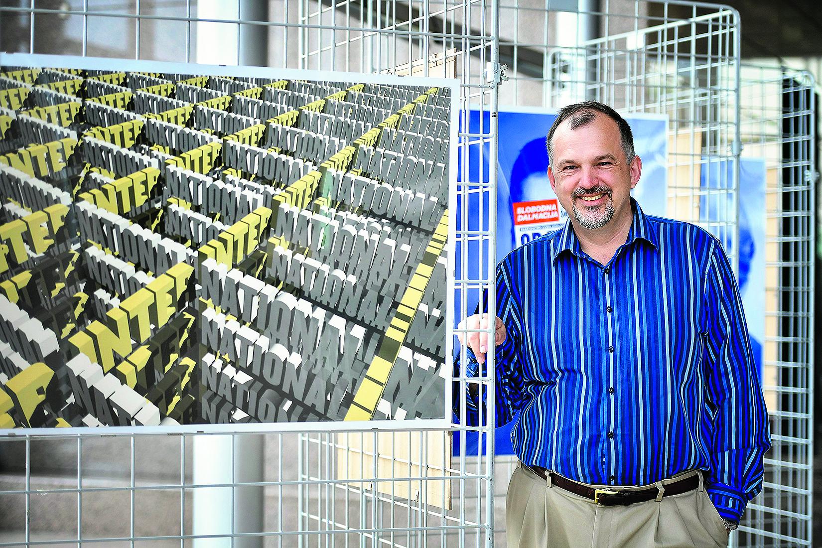 Zagreb, 250417. Poduzetnik i filantrop Kresimir Penavic, fotografiran u NSK. Foto: Boris Kovacev / CROPIX