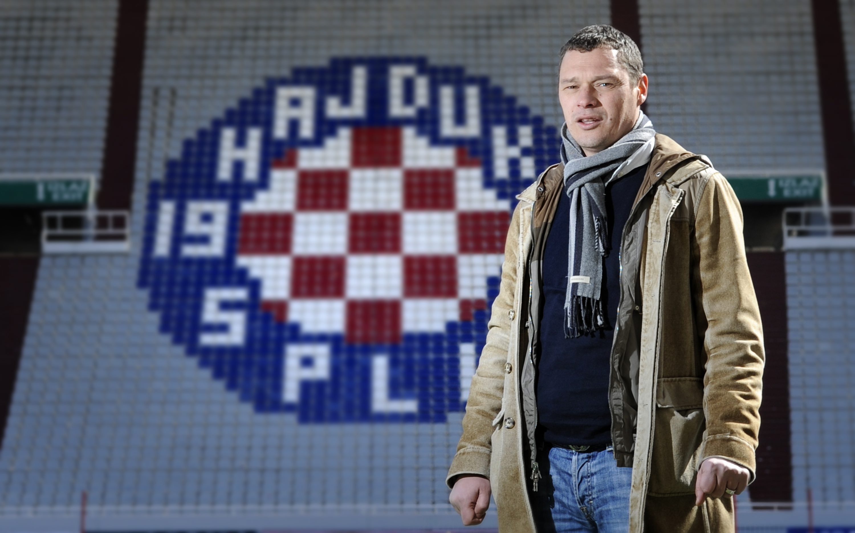 Split, 080311. Tomislav Erceg nekadasnji igrac Hajduka a nakon karijere i sportski direktor istog kluba dok se danas bavi transferiranjem igraca u strane klubove. Foto: Paun Paunovic / CROPIX