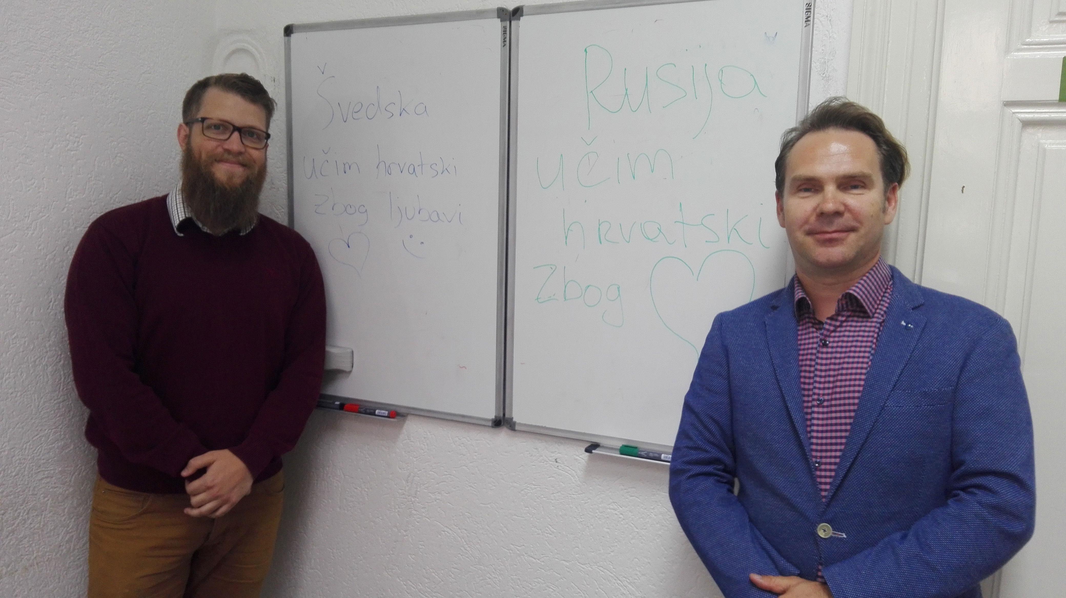 Mattias Carlsson i Alexander Kurlyev