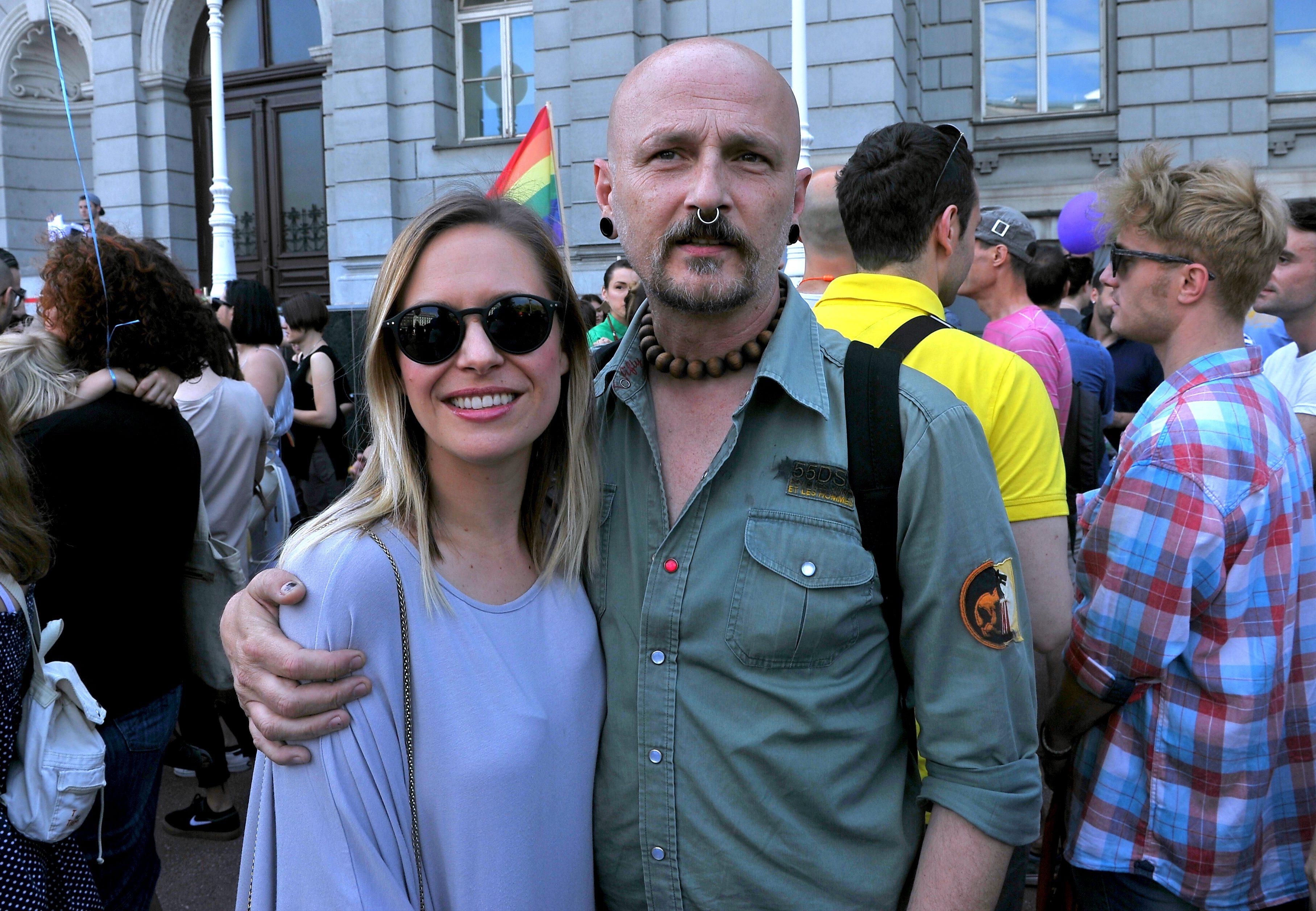 Damir Urban sa suprugom Milicom