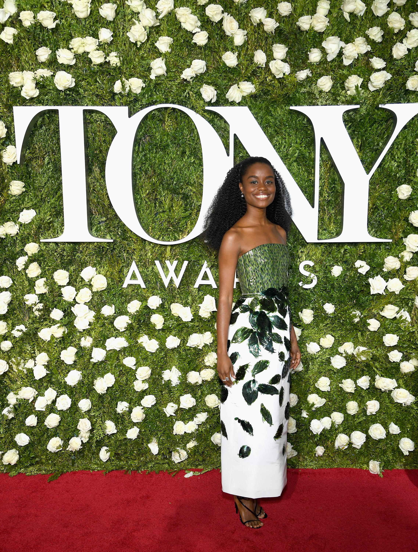 NEW YORK, NY - JUNE 11:  Denee Benton attends the 2017 Tony Awards at Radio City Music Hall on June 11, 2017 in New York City.  (Photo by Dimitrios Kambouris/Getty Images for Tony Awards Productions)