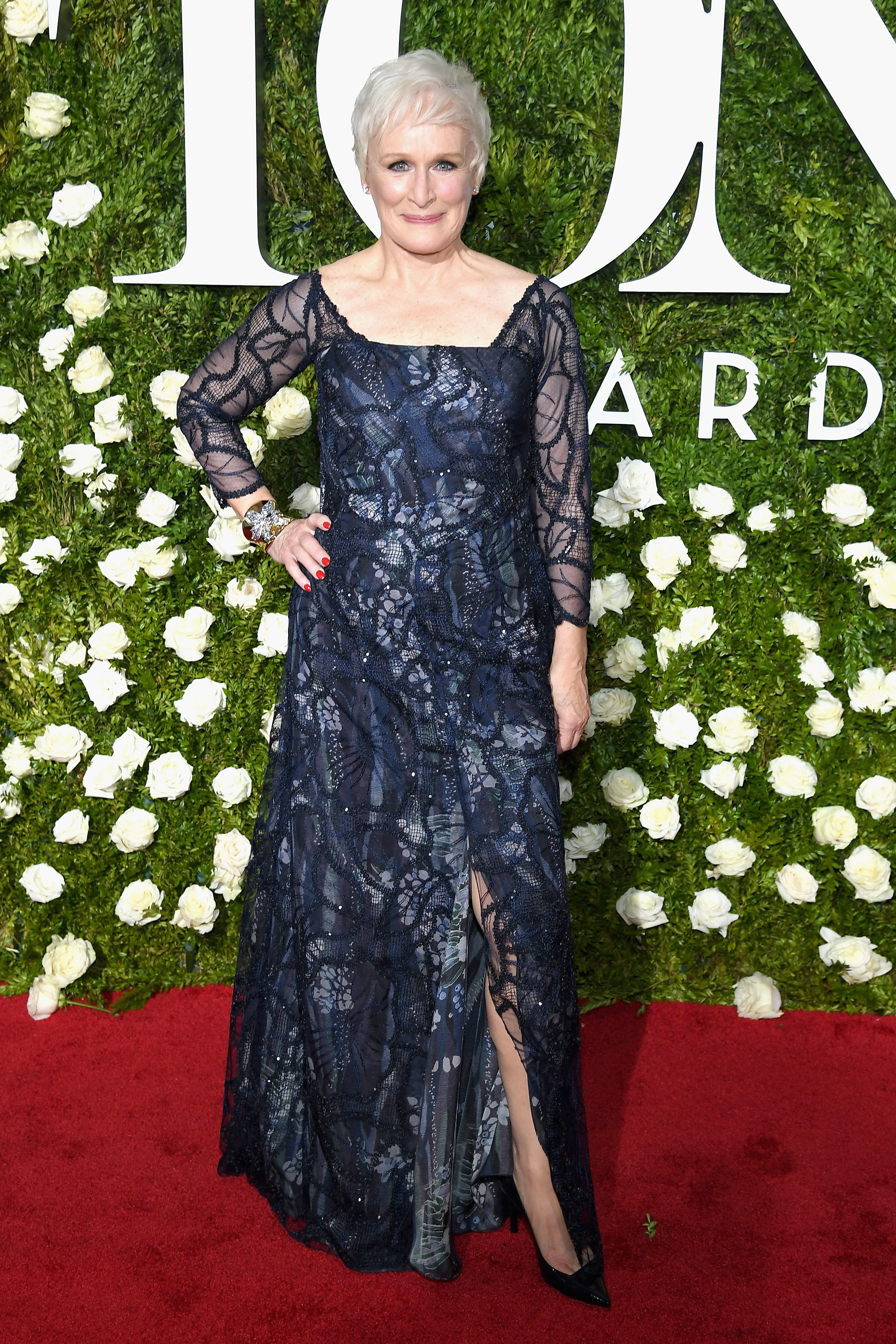 NEW YORK, NY - JUNE 11:  Glenn Close attends the 2017 Tony Awards at Radio City Music Hall on June 11, 2017 in New York City.  (Photo by Dimitrios Kambouris/Getty Images for Tony Awards Productions)