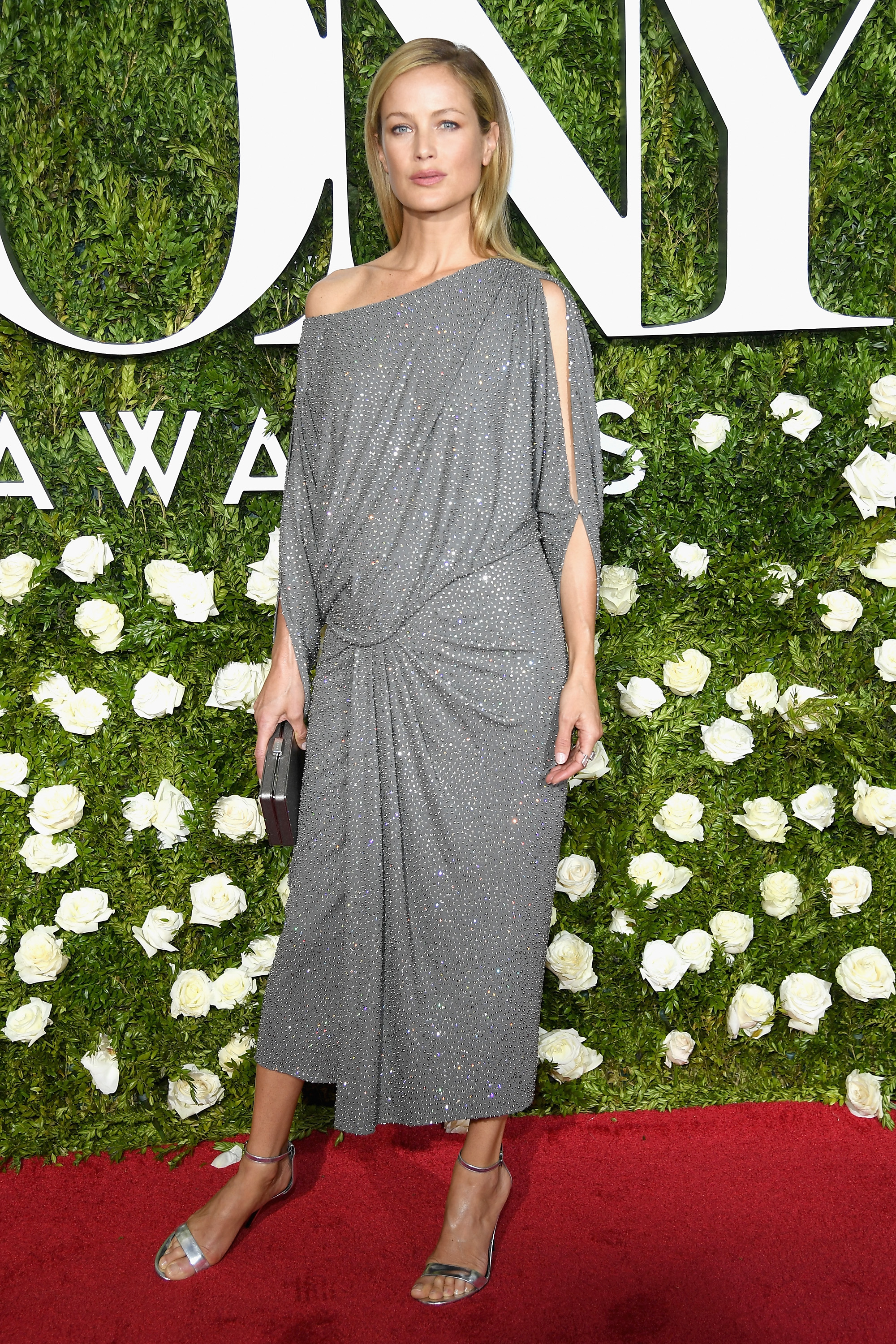 NEW YORK, NY - JUNE 11:  Model Carolyn Murphy attends the 2017 Tony Awards at Radio City Music Hall on June 11, 2017 in New York City.  (Photo by Dimitrios Kambouris/Getty Images for Tony Awards Productions)