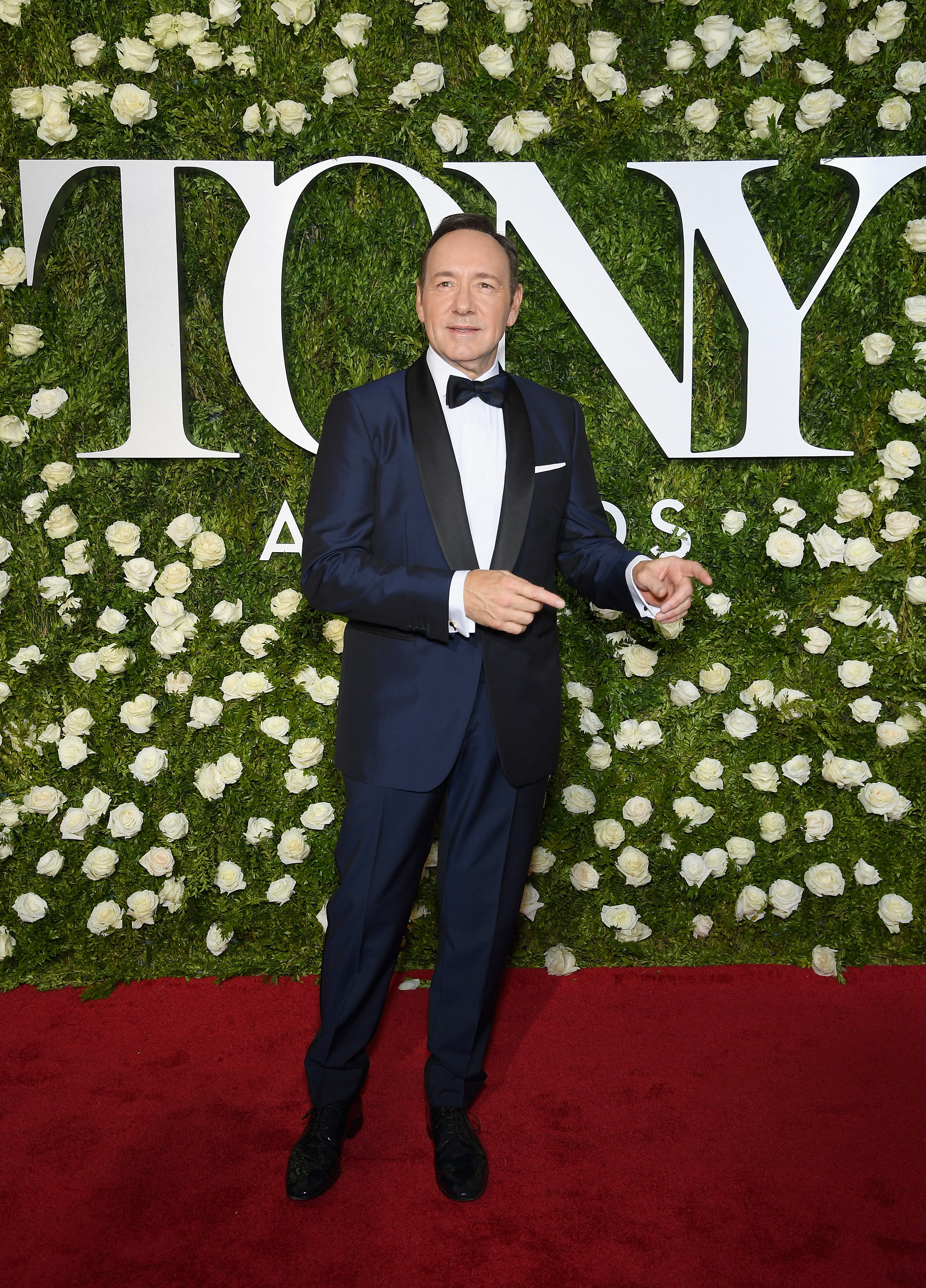 NEW YORK, NY - JUNE 11:  Host Kevin Spacey attends the 2017 Tony Awards at Radio City Music Hall on June 11, 2017 in New York City.  (Photo by Dimitrios Kambouris/Getty Images for Tony Awards Productions)