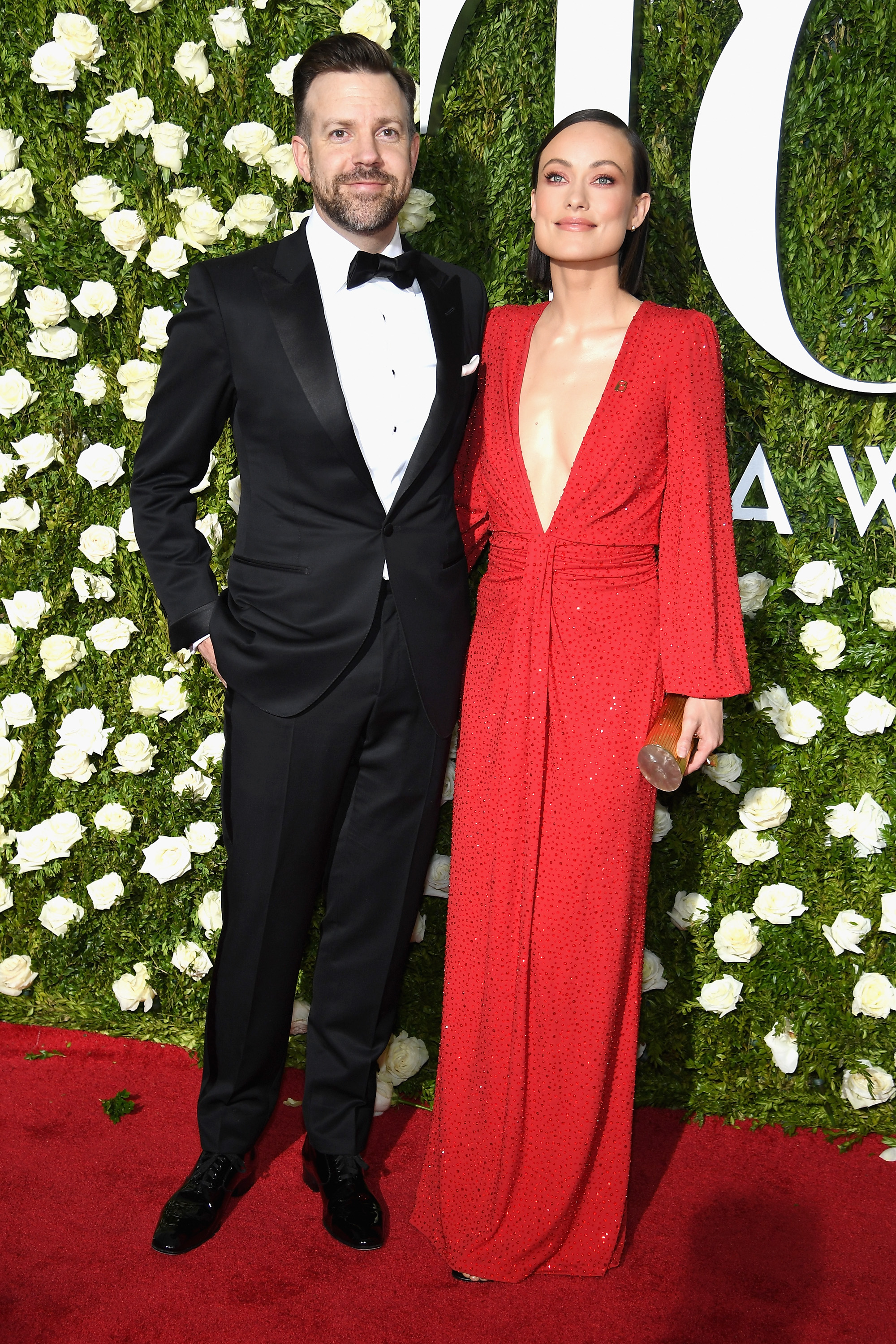 NEW YORK, NY - JUNE 11: Jason Sudekis and Olivia Wilde attend the 2017 Tony Awards at Radio City Music Hall on June 11, 2017 in New York City.  (Photo by Dimitrios Kambouris/Getty Images for Tony Awards Productions)