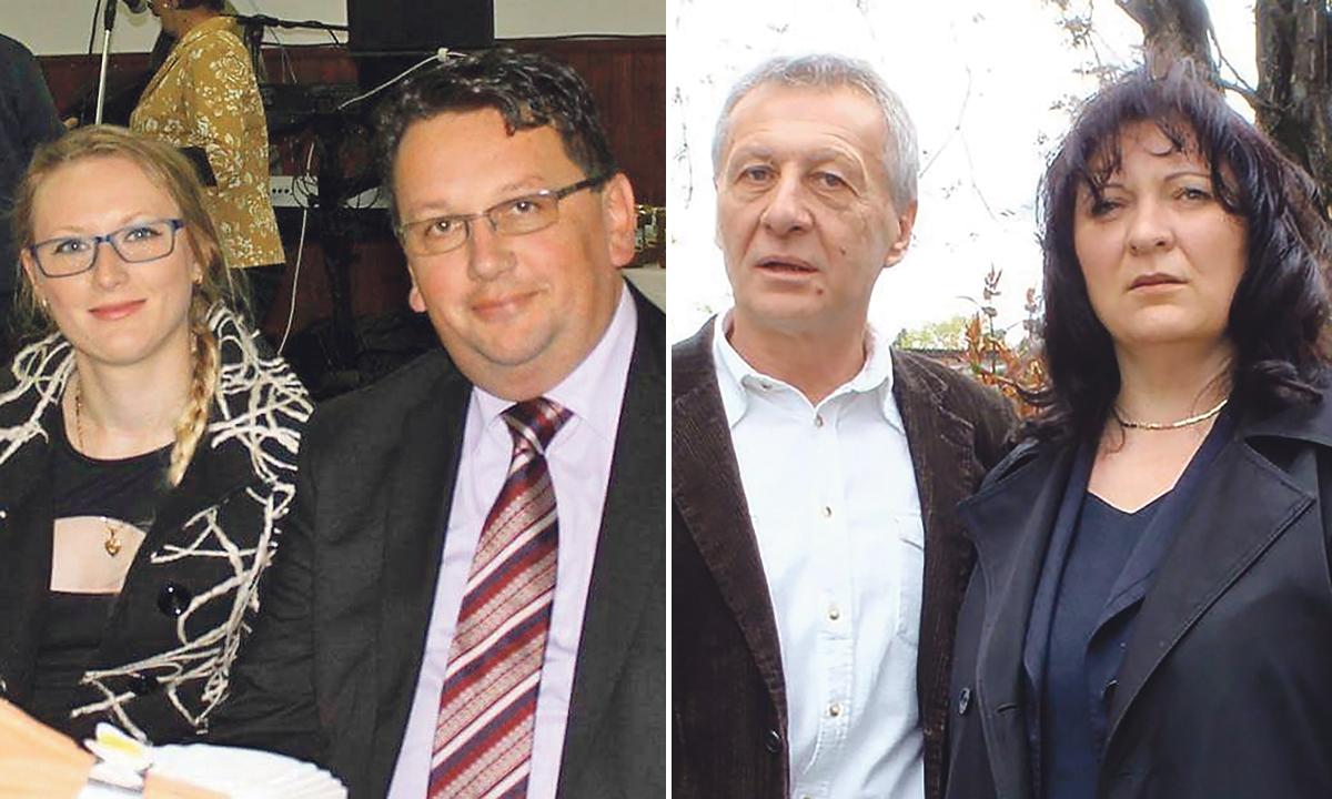 HDZ-ovac Mladen Levak (lijevo) vodit će Općinsko vijeće, a SDP-ovac Zdravko Brljek novi je načelnik općine