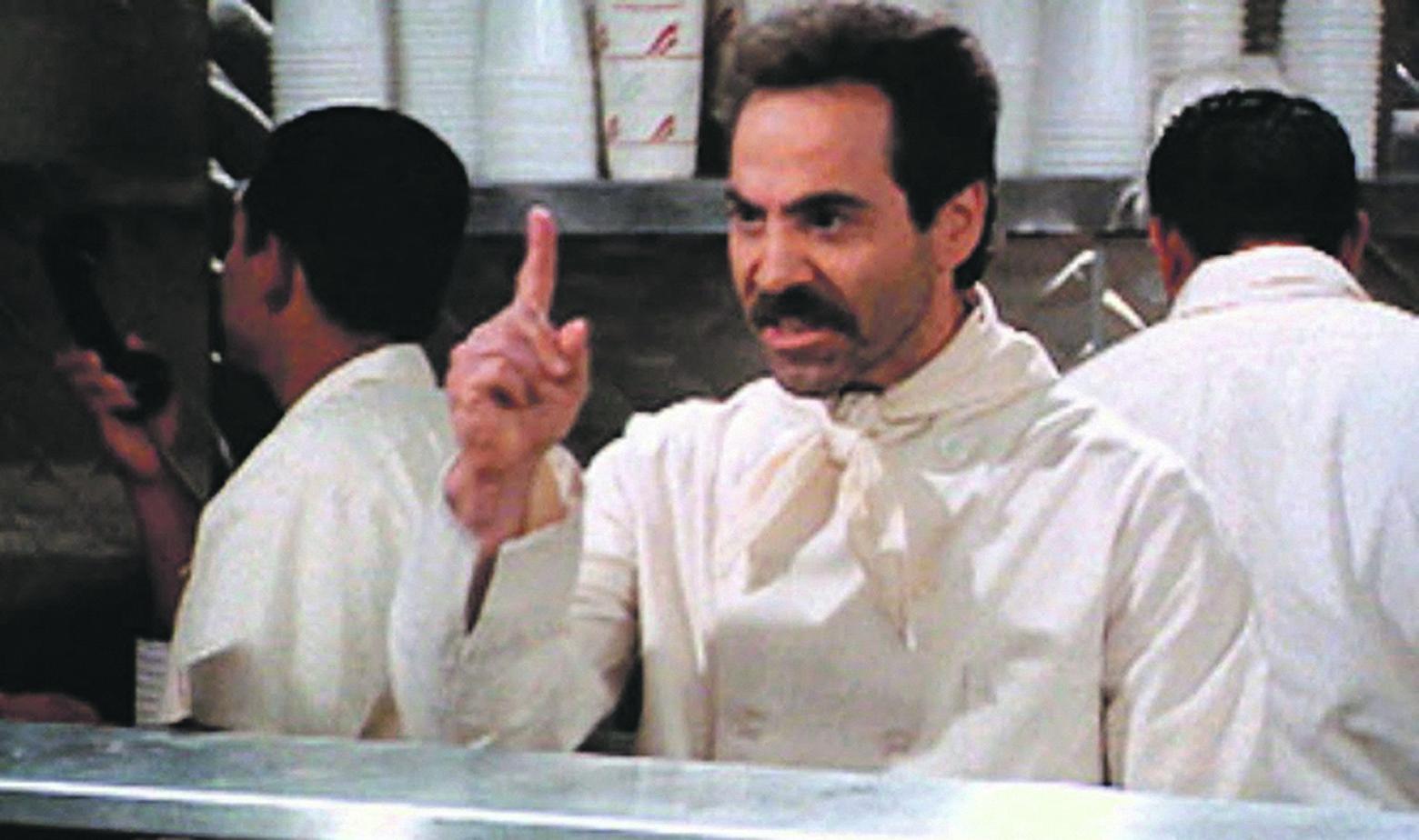 """Isječak iz epizode Seinfelda """"Soup Nazi"""""""