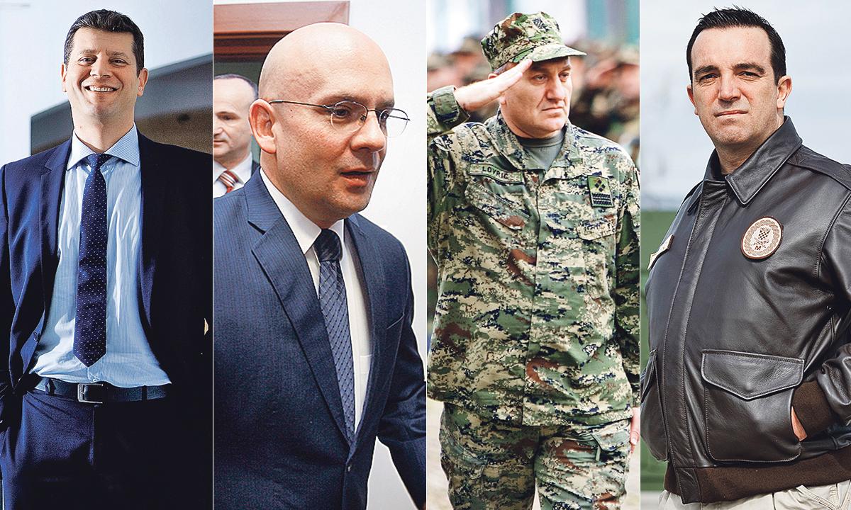 Na fotografiji: Jasen Mesić, Pjer Šimunović, Drago Lovrić i Josip Buljević