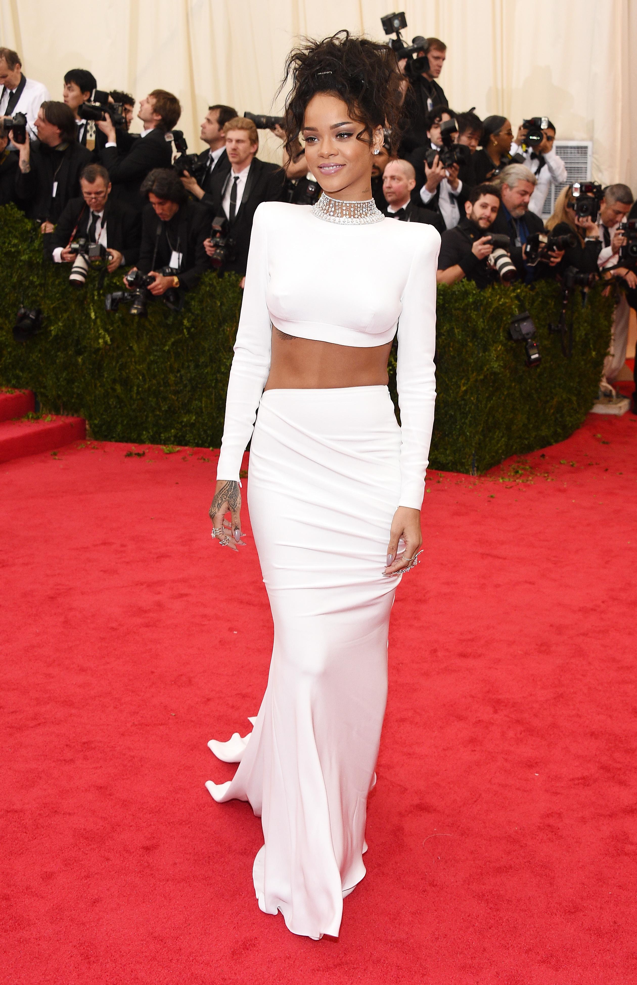NEW YORK, NY - MAY 05:  Rihanna attends the