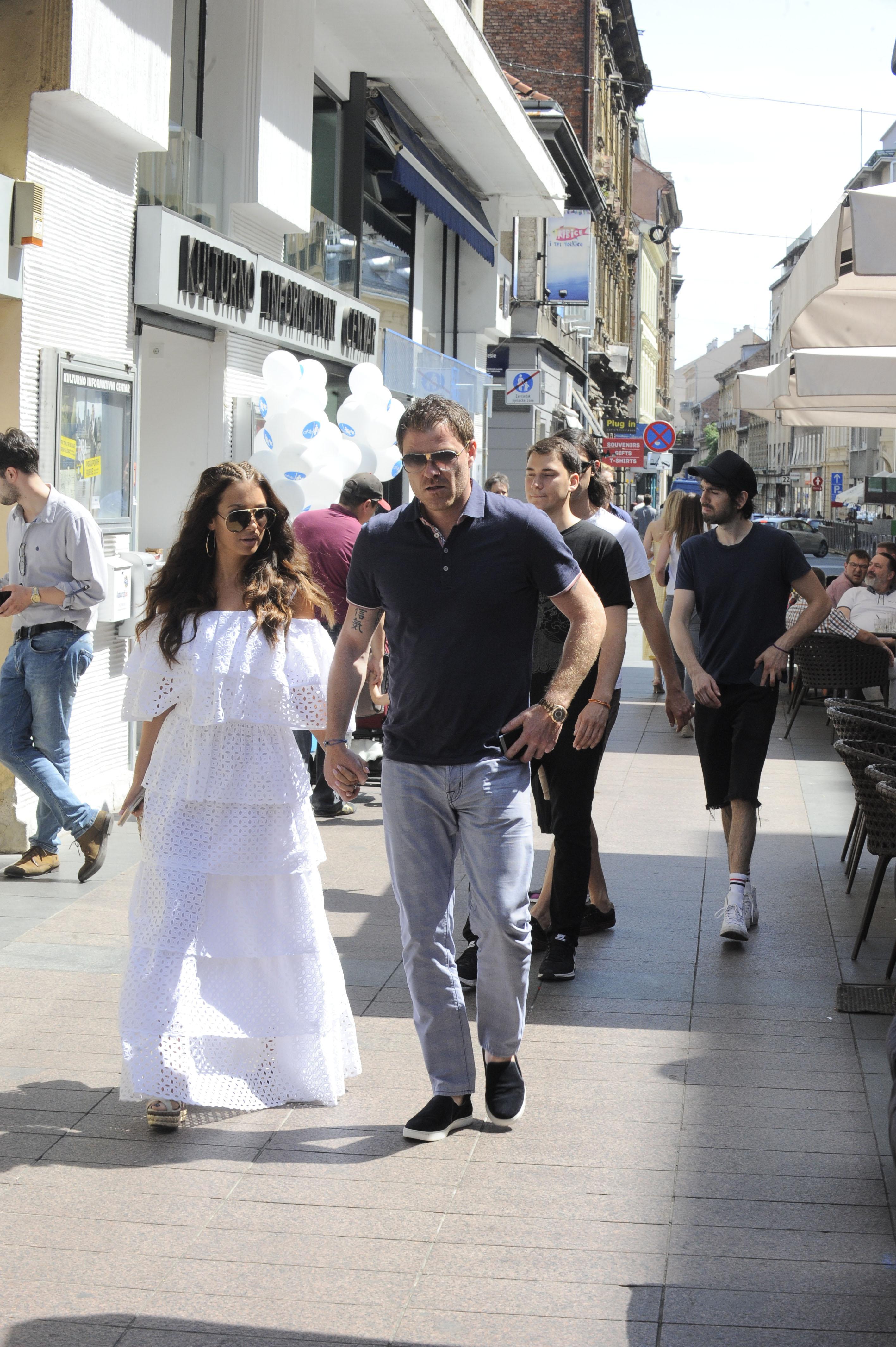 Mario Mamić i Tia Jurčić na ljeto 2017. godine