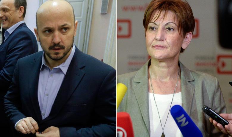 Gordan Maras i Martina Dalić