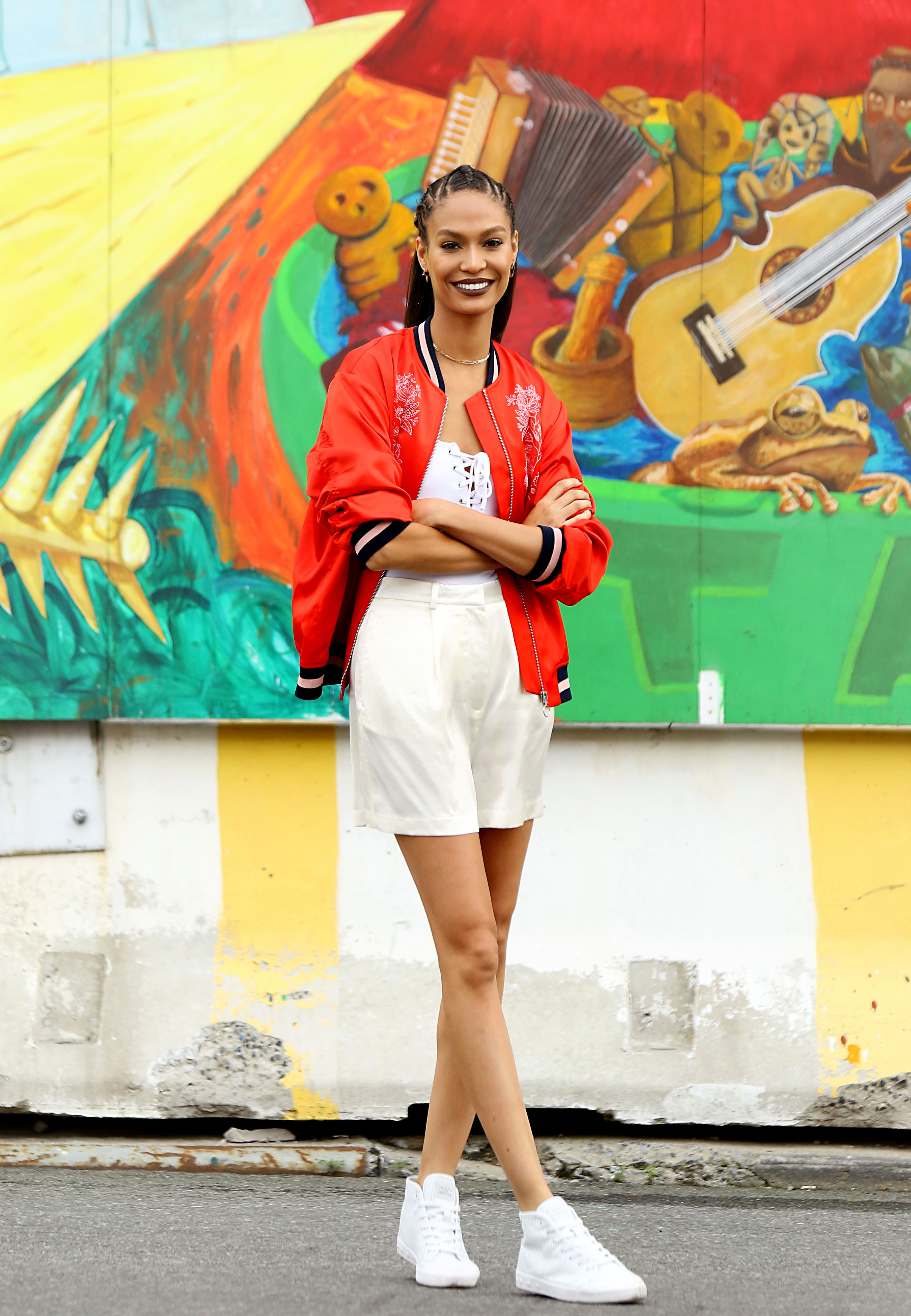 Brooklyn, NY -  June 14, 2016:  Joan Smalls out and about in Brooklyn.  -  PICTURED: Joan Smals   -, Image: 290564644, License: Rights-managed, Restrictions: , Model Release: no, Credit line: Profimedia, INSTAR Images