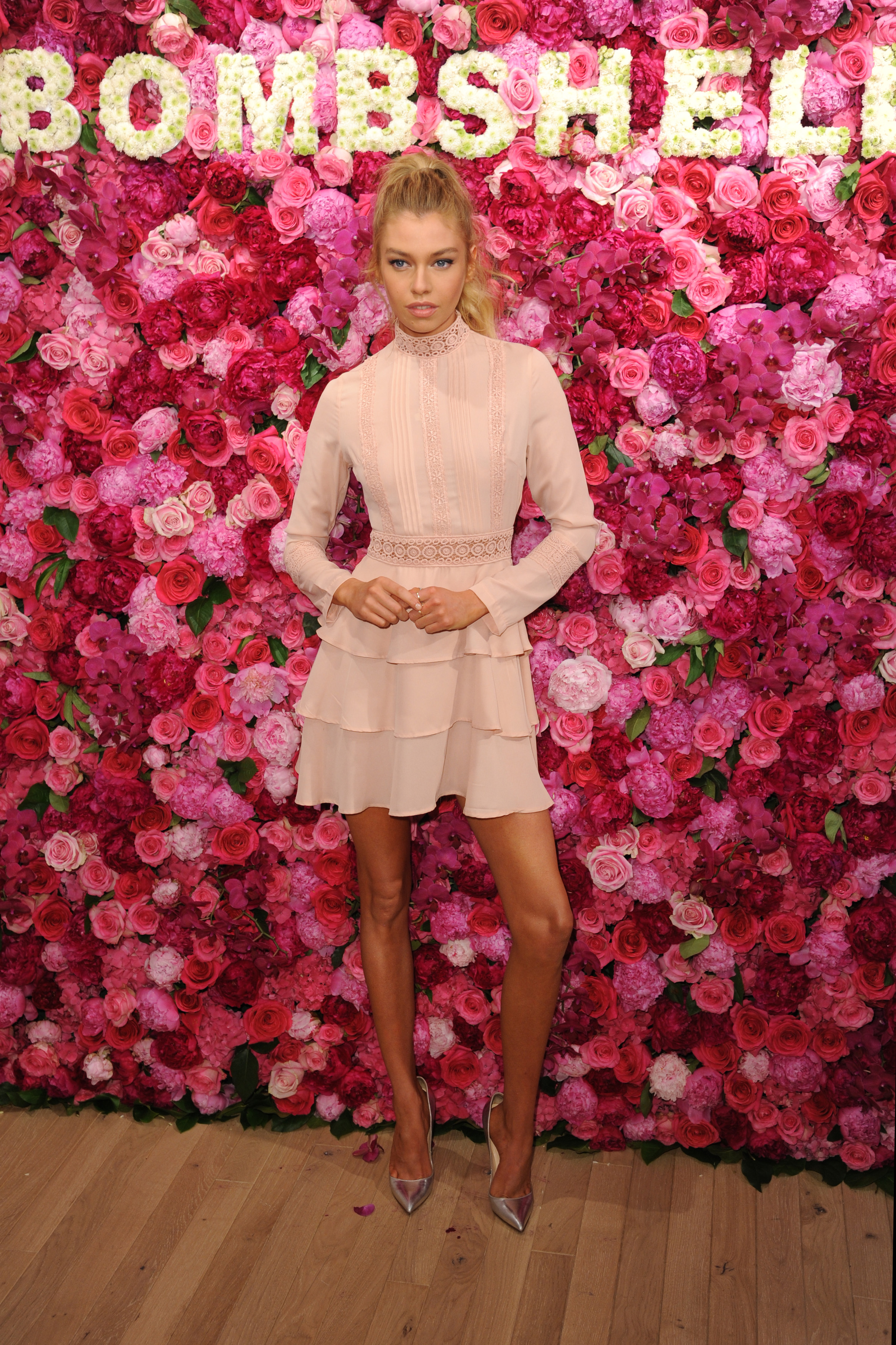 May 10, 2017  New York City  Victoria's Secret Angel Stella Maxwell celebrates Bombshell Fragrance at Victoria's Secret on Fifth Avenue on May 10, 2017 in New York City.  Credit: Kristin Callahan/ACE Pictures   Tel: 646 769 0430 Email: info@acepixs.com, Image: 331878110, License: Rights-managed, Restrictions: , Model Release: no, Credit line: Profimedia, Acepixs