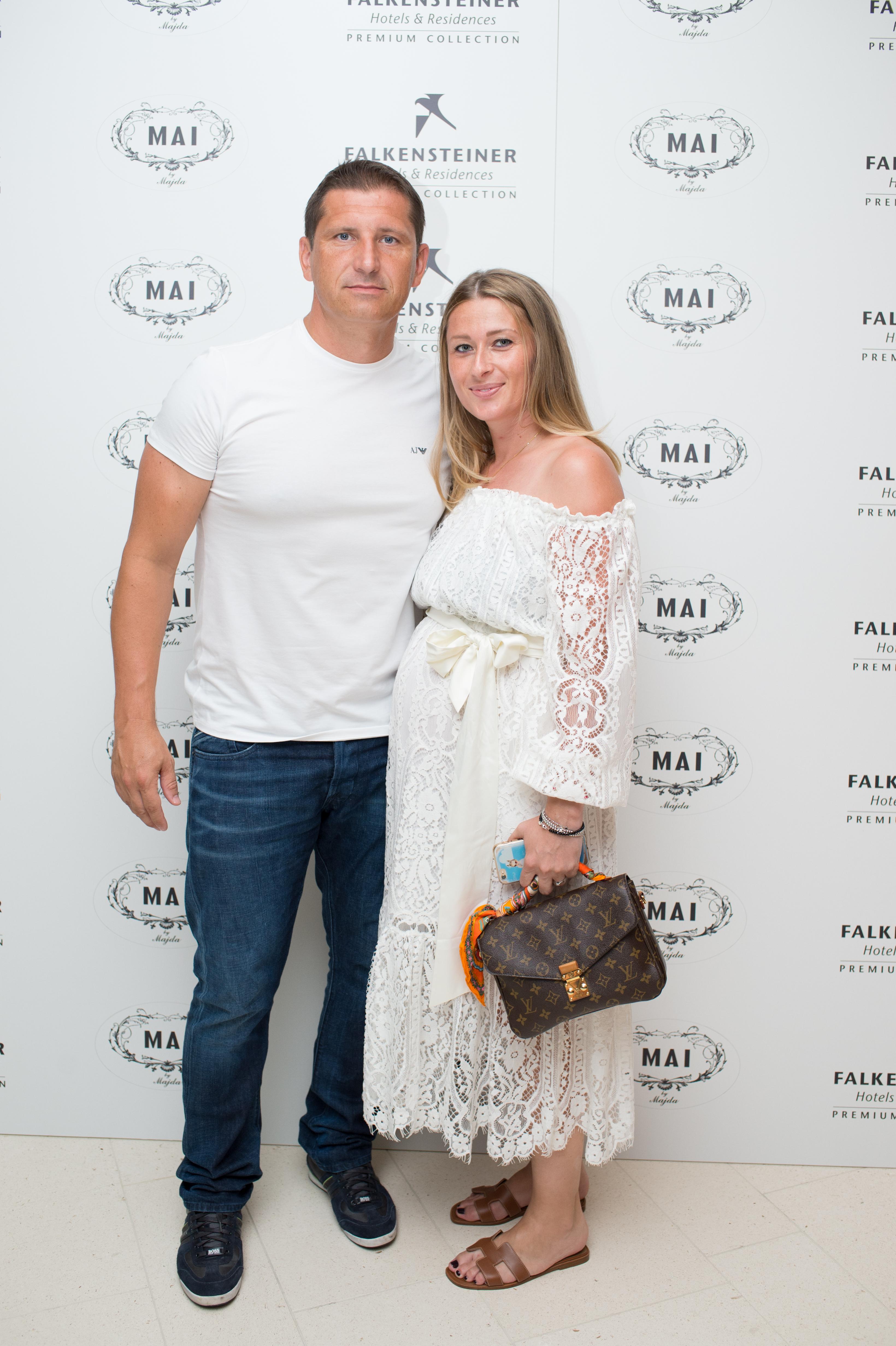 Silvio Maric sa suprugom Ivom