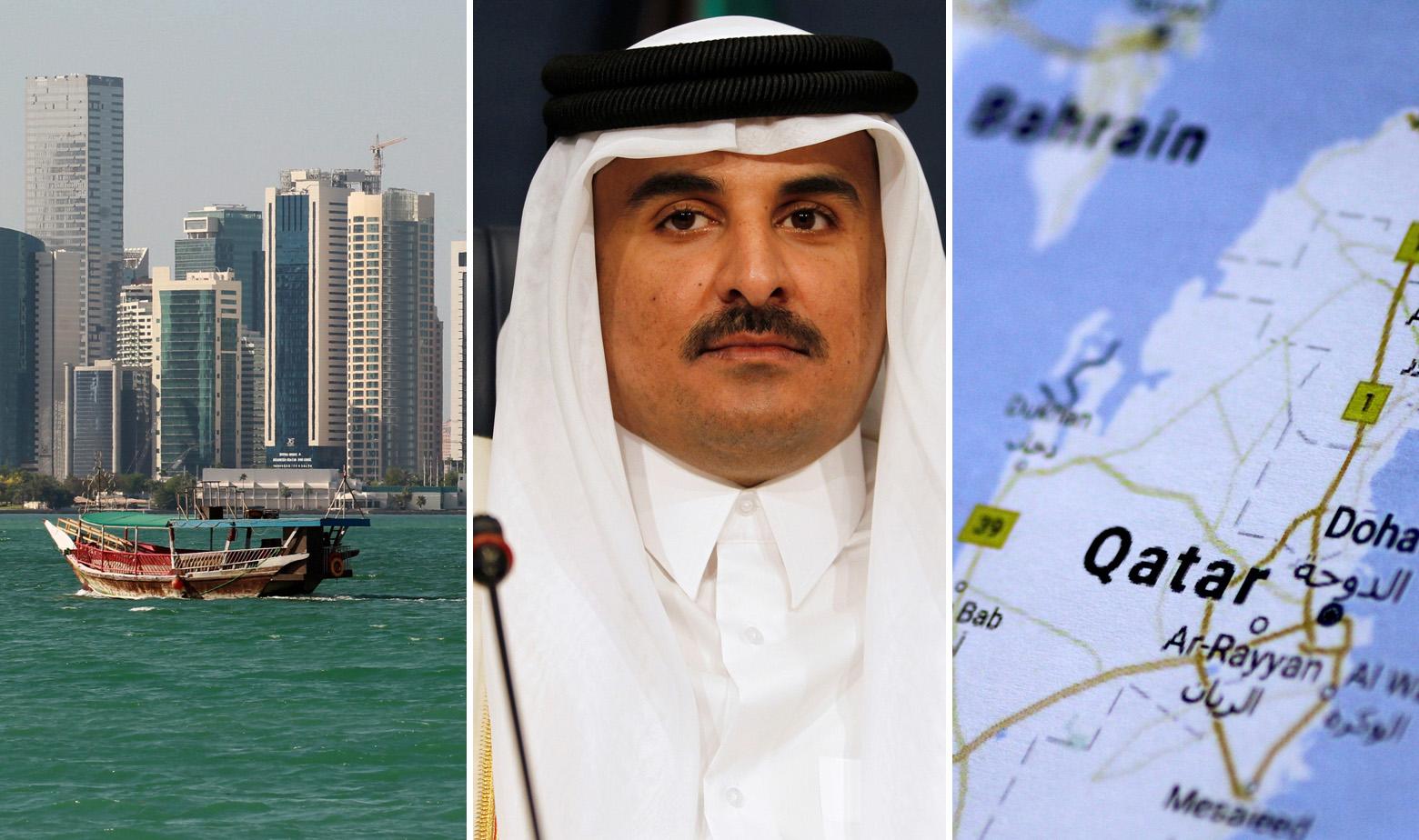 Doha i katarski emir Tamim bin Hamad al-Thani