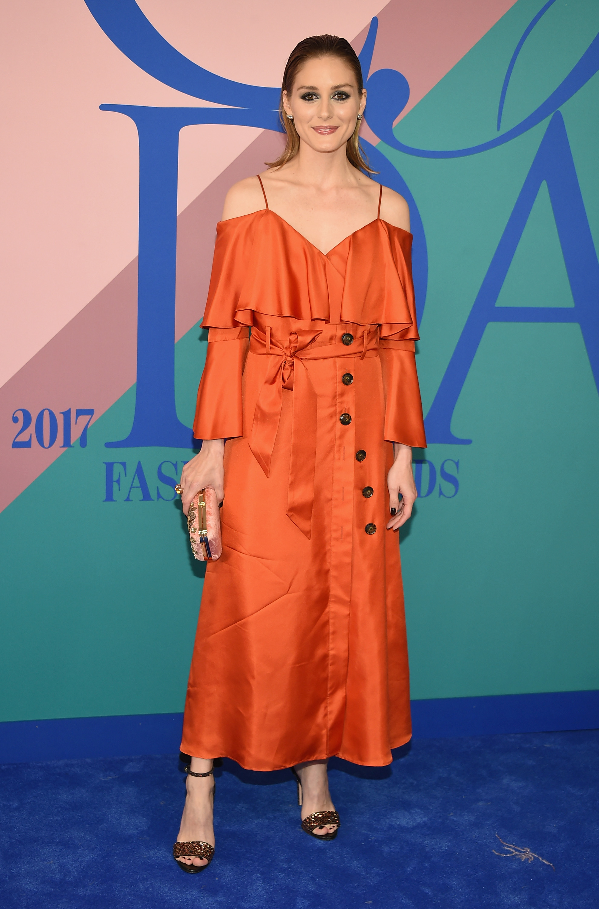 NEW YORK, NY - JUNE 05:  Olivia Palermo attends the 2017 CFDA Fashion Awards at Hammerstein Ballroom on June 5, 2017 in New York City.  (Photo by Dimitrios Kambouris/Getty Images)
